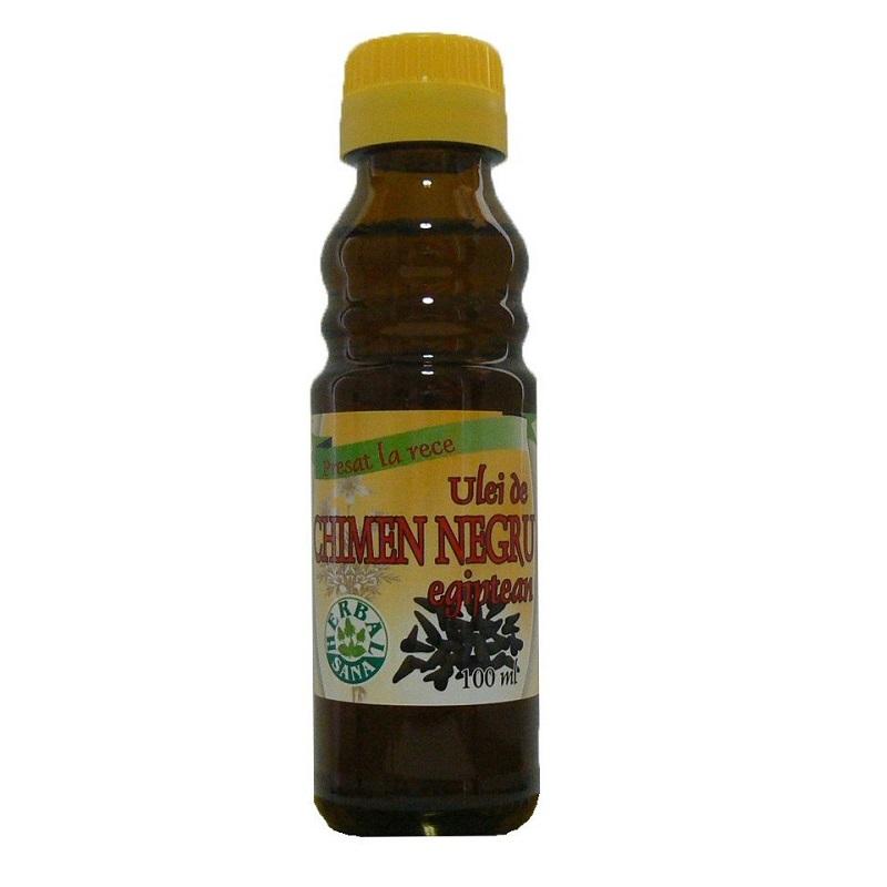 Ulei de chimen negru, 100 ml, Herbal Sana