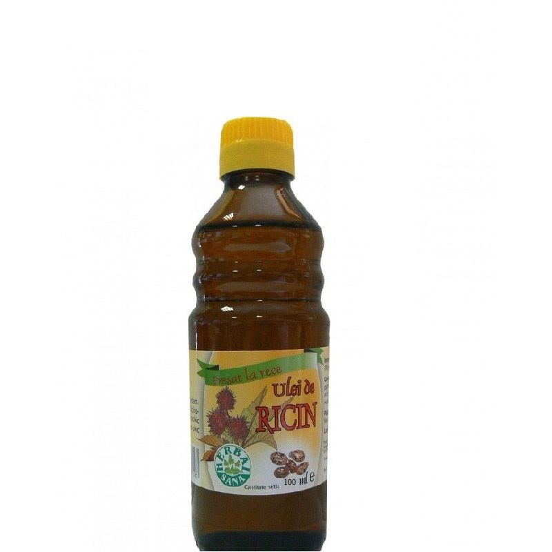 Ulei de ricin, 100 ml, Herbal Sana