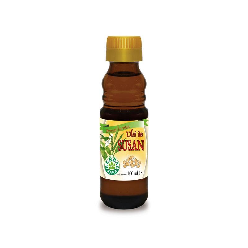 Ulei de susan, 100 ml, Herbal Sana
