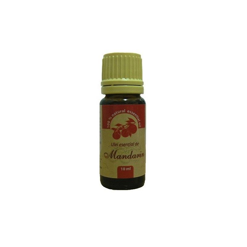 Ulei esențial de mandarin, 10 ml, Herbal Sana