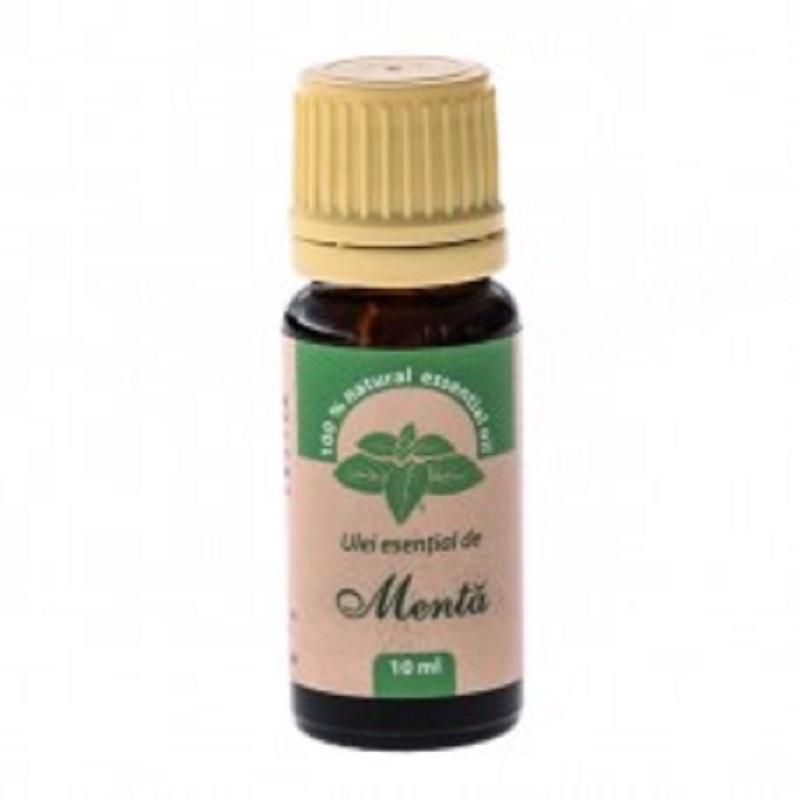 Ulei esențial de mentă, 10 ml, Herbal Sana