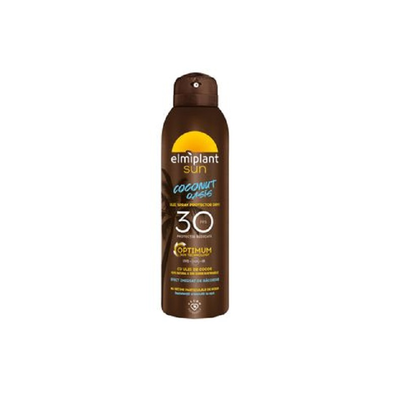 Ulei spray protector Dry SPF 30, 150 ml, Elmiplant