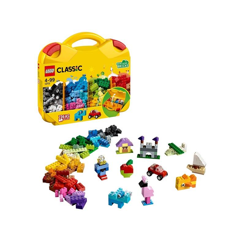 Valiza creativă, L10713, Lego Classic