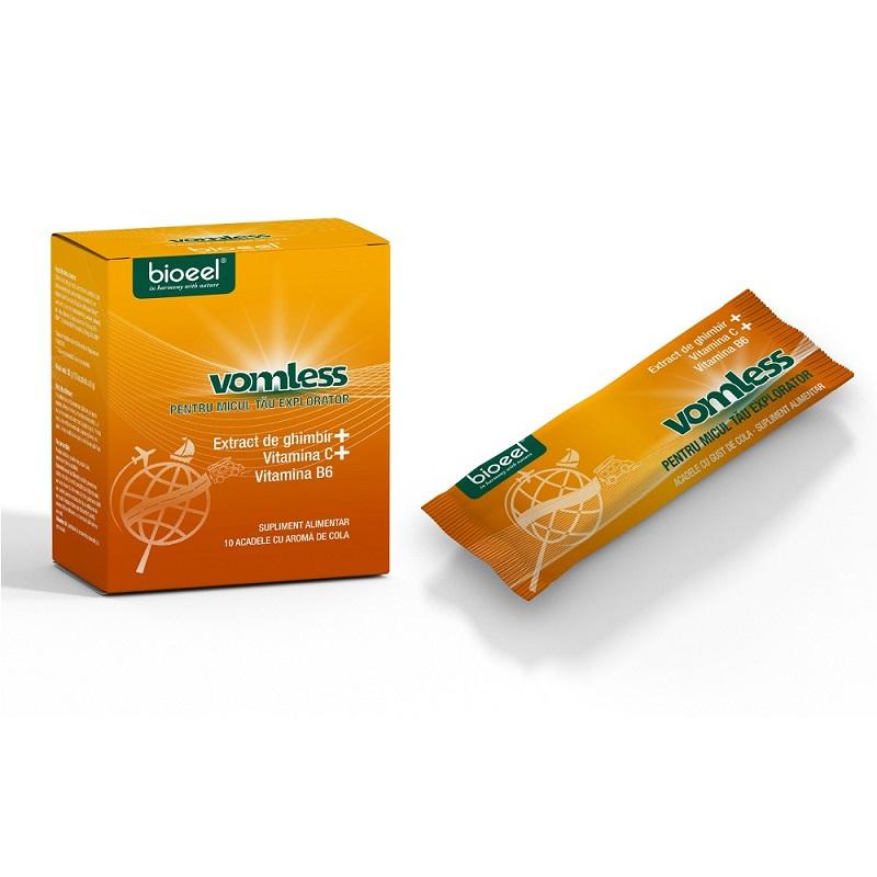 Vomless, 10 acadele, Bioeel