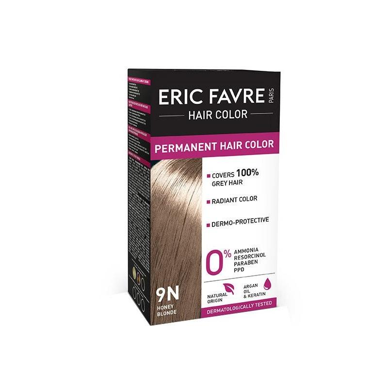 Vopsea de păr Nuanța 9N Honey Blonde, 40 ml, Eric Favre Wellness