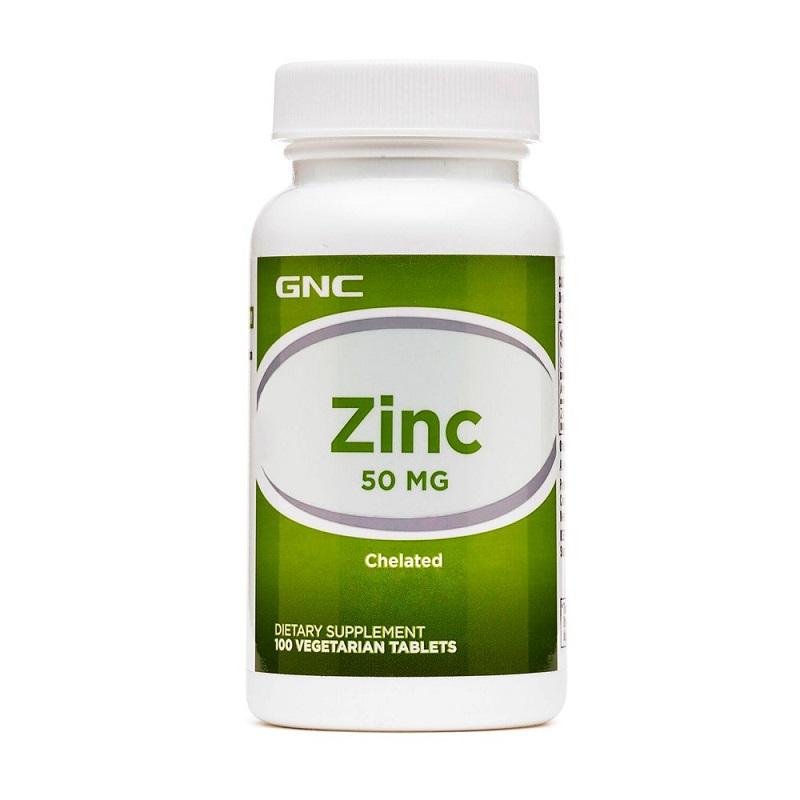 Zinc Chelat 50 mg 253920, 100 tabete, GNC